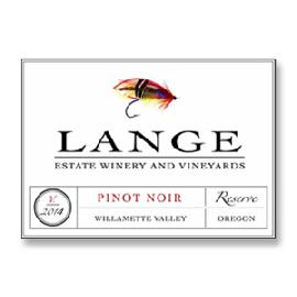 2014 Lange Estate Winery Pinot Noir Reserve