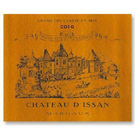 2010 Chateau D'Issan Margaux 3rd Grand Cru Classe in 1855