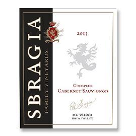 2013 Sbragia Family Vineyards Godspeed Mount Veeder Napa Valley