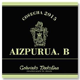 2015 Bodegas Aizpurua. B. Getariako Txakolina D.O.