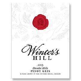 2015 Winter's Hill Pinot Gris Estate Dundee Hills Oregon
