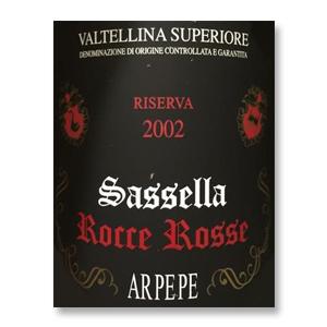 2002 Ar.Pe.Pe Sassella Riserva Rocce Rosse