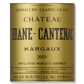 2000 Chateau Brane Cantenac 2nd Grand Cru Classe Margaux