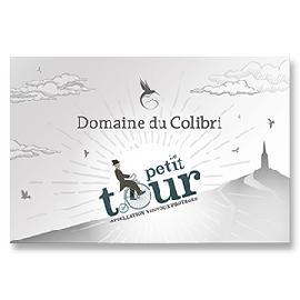"""2016 Domaine du Colibri Rose """"Le Petit Tour"""" Ventoux"""