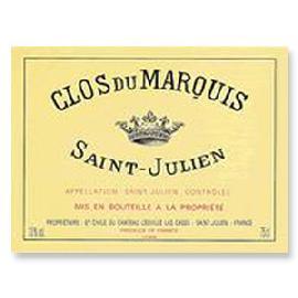 1995 Chateau Leoville Las Cases Clos du Marquis Saint-Julien
