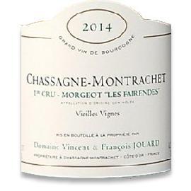 2014 Domaine Francois et Vincent Jouard Chassagne Montrachet 1er Cru Morgeot les Fairendes Vieilles Vignes