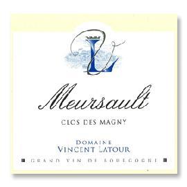 2014 Vincent Latour Meursault Clos des Magny