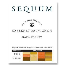 2012 Sequum Four Soil Melange Cabernet Sauvignon Napa Valley