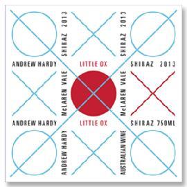 2014 Andrew Hardy Little Ox Shiraz McLaren Vale