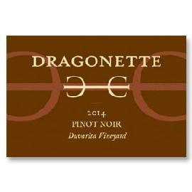 2014 Dragonette Cellars Duvarita Vineyard Pinot Noir