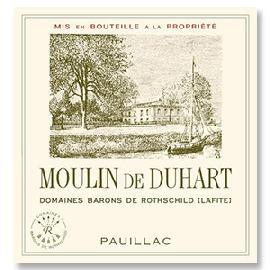 2014 Chateau Duhart Milon Pauillac Moulin de Duhart