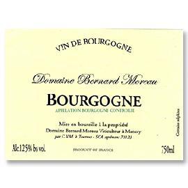 2010 Bernard Moreau Bourgogne Blanc