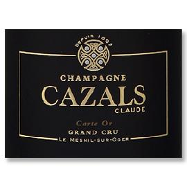 NV Claude Cazals Carte d'Or Grand Cru Champagne