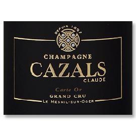 NV Claude Cazals Carte d'Or Grand Cru Champagne