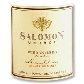 2016 Salomon Undhof Gruner Veltliner Weiden