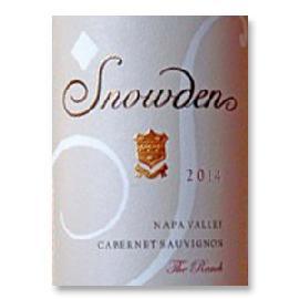 2014 Snowden Vineyard Cabernet Sauvignon The Ranch Napa Valley
