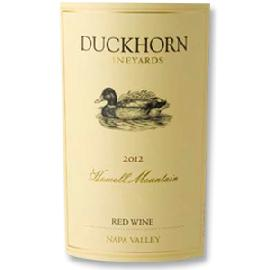 2012 Duckhorn Vineyards Howell Mountain Napa Valley Red Wine