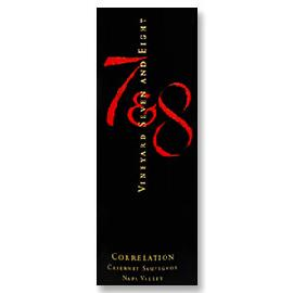 2013 Vineyard 7 & 8 Estate Cabernet Sauvignon Correlation Spring Mountain District