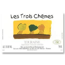 2015 Domaine Vincent Ricard Cuvee Les Trois Chenes