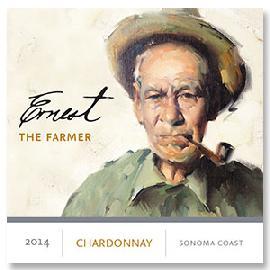 2014 Ernest Vineyards The Farmer Chardonnay