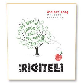 2014 Riccitelli The Apple Doesn't Fall Far From the Tree Malbec