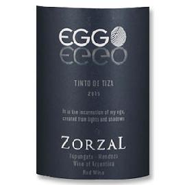 2015 Zorzal Eggo Tinto de Tiza Tupungato Valley Argentina
