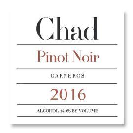 2016 Chad Pinot Noir Los Carneros