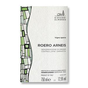 2016 Giovanni Almondo Arneis Vigne Sparse Roero