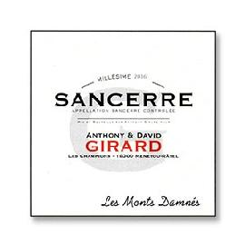 2016 Anthony & David Girard Sancerre Les Monts Damnes