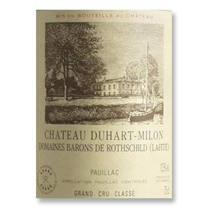 2010 Chateau Duhart Milon Pauillac