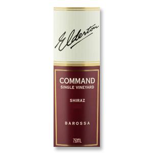 2013 Elderton Shiraz Command Single Vineyard