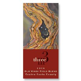 2014 Three Wine Company Old Vines Field Blend Contra Costa County