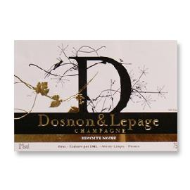 Dosnon & Lepage Recolte Noire Brut Champagne