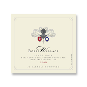 2014 Rossi Wallace Pinot Noir Napa Valley