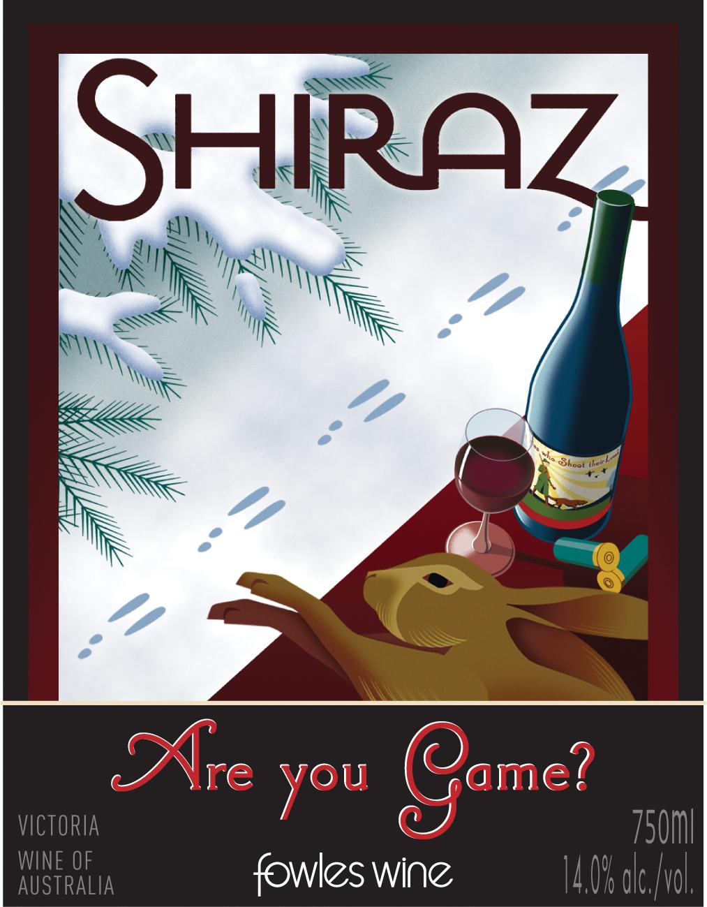 2013 Fowles Wine Shiraz Are You Game Victoria