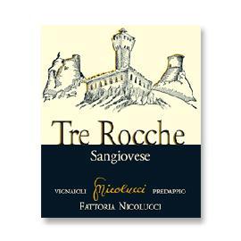 2016 Fattoria Nicolucci Tre Rocche Sangiovese di Romagna