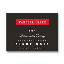 2013 Panther Creek Cellars Carter Vineyard Pinot Noir