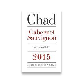 2015 Chad Cabernet Sauvignon Napa Valley