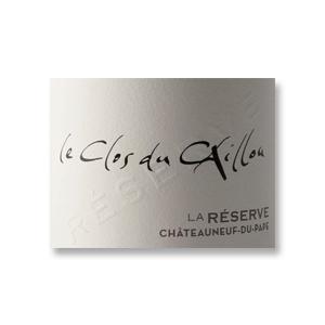2012 Le Clos du Caillou Chateauneuf-du-Pape Rouge Reserve