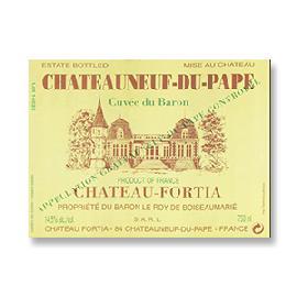 2015 Chateau Fortia Cuvee du Baron Chateauneuf du Pape