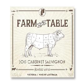 2015 Fowles Farm to Table Cabernet Sauvignon Victoria Australia
