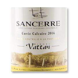 2016 Michel Vattan Cuvee Calcaire Sancerre