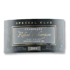 2011 Roland Champion Special Club Blanc de Blancs Chouilly Grand Cru Brut Chardonnay Champagne