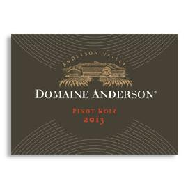 2013 Domaine Anderson Pinot Noir Anderson Valley