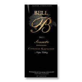 2015 Bell Sonnette Unfiltered Cabernet Sauvignon Napa Valley