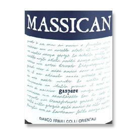 2017 Massican Winery Gaspare Friuli Colli Orientali White Wine