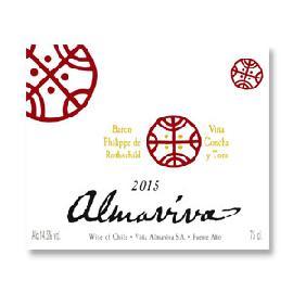2015 Vina Almaviva Bordeaux Blend Puente Alto