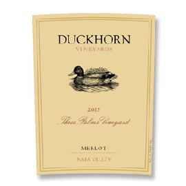 2015 Duckhorn Vineyards Three Palms Vineyard Merlot Napa Valley