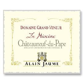 2015 Domaine Grand Veneur / Alain Jaume & Fils Le Miocene Chateaunuf du Pape