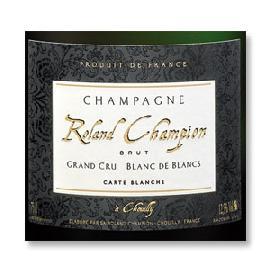 Champagne Roland Champion Blanc de Blancs Brut Chouilly Grand Cru